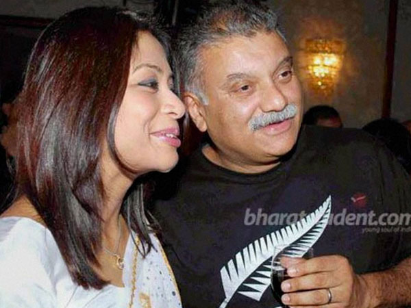 File photo of Indrani Mukherjea (left) with her husband Peter Mukherjea