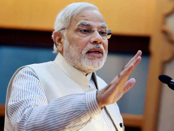 The good news is Parl is running: Modi