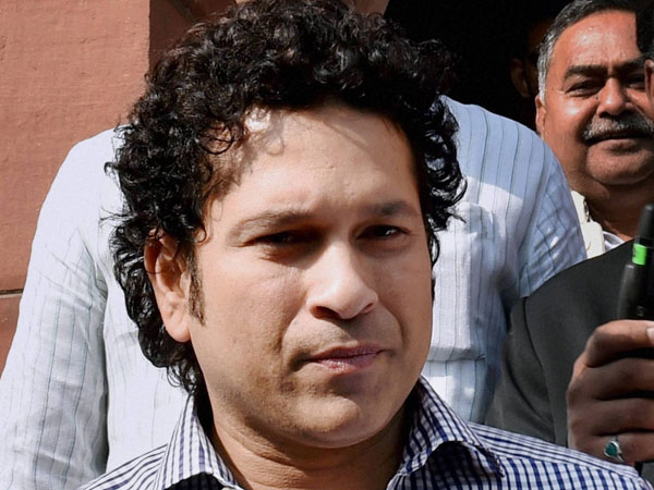File Photo: Cricket legend and Rajya Sabha MP Sachin Tendulkar at Parliament House in New Delhi