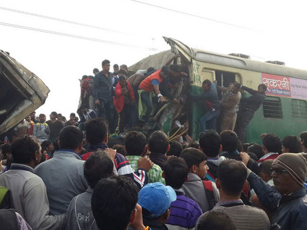 100 injured as trains collide in Haryana