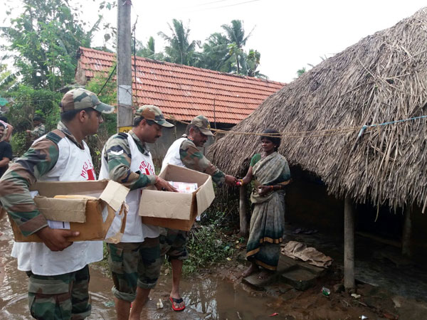 Chennai Relief operations