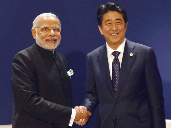 Security beef up for Modi-Abe visit
