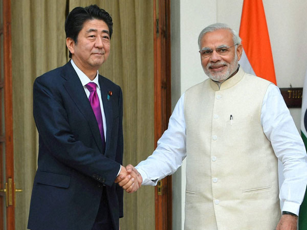 Narendra Modi and Shinzo Abe