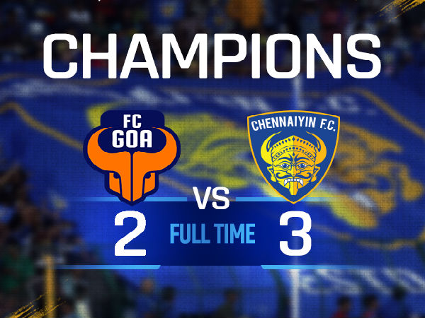 Chennaiyin FC are new ISL champions