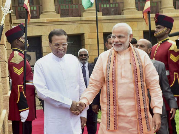 PM in Sri Lanka