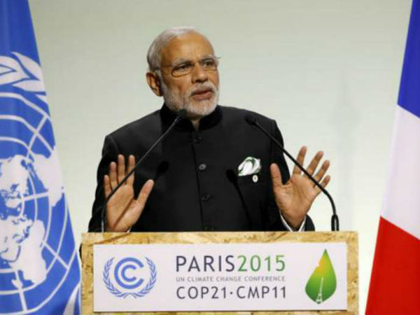 PM at Paris Climate Summit