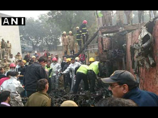 BSF Aircraft crashes in Dwarka, 10 dead