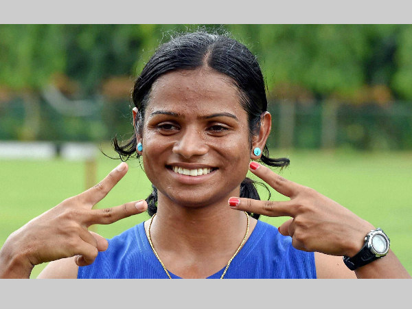 A file picture of Dutee Chand