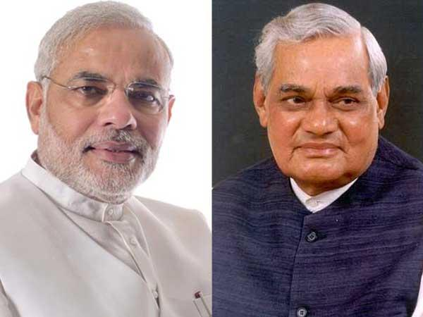 Modi wishes Vajpayee on his b'day