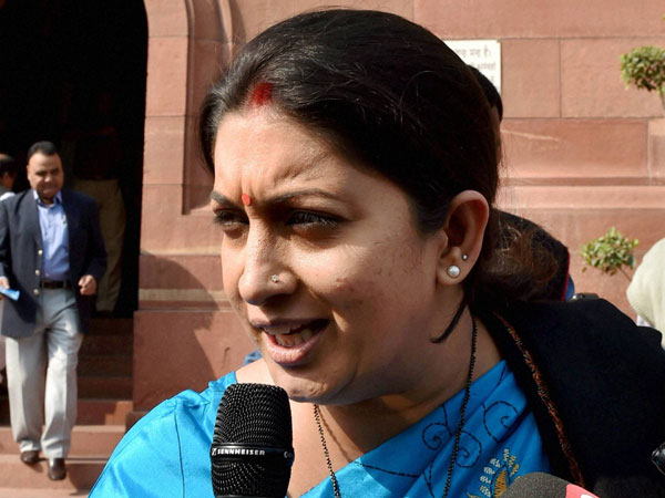FIR registered against Cong leader for comment against Smriti Irani.