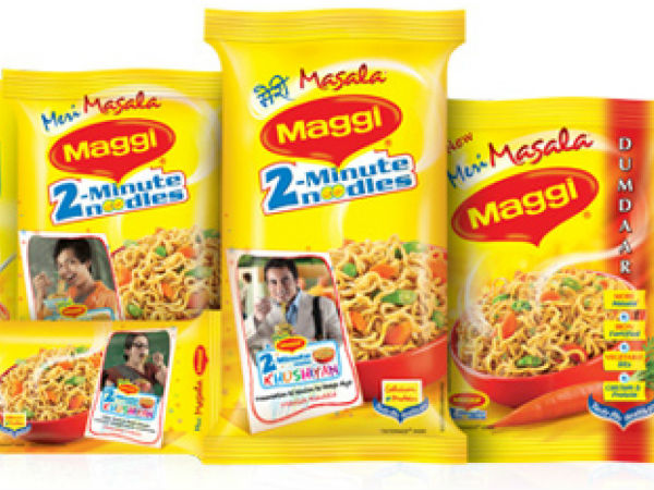 2 minute Maggi landed in soup