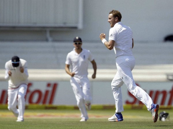 Finn took six wickets in the match and Broad five.