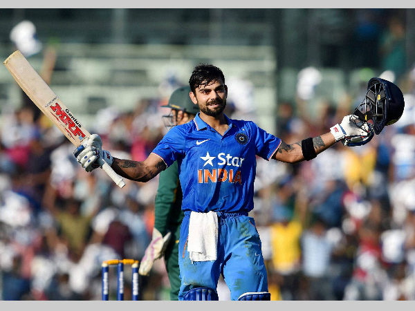 Kohli named BCCI Cricketer of the Year