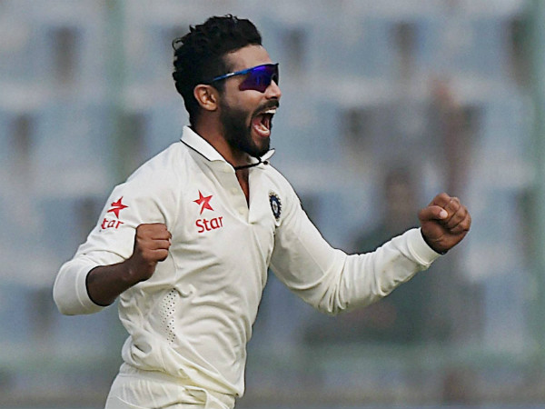 Jadeja is ecstatic after he ended Amla's long vigil at the crease
