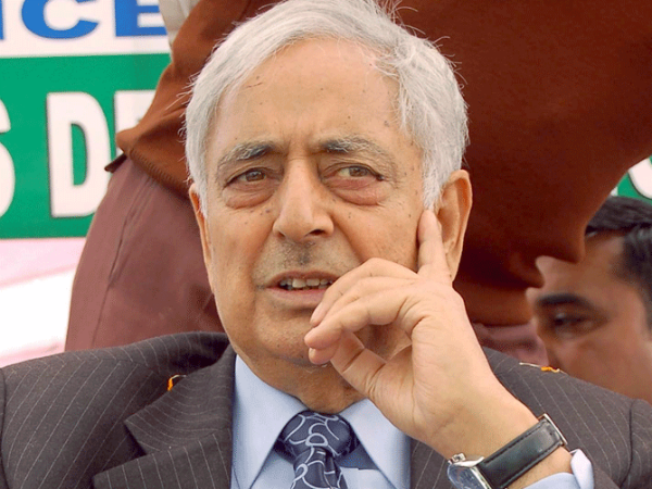 Mufti death: Opposition parties condole