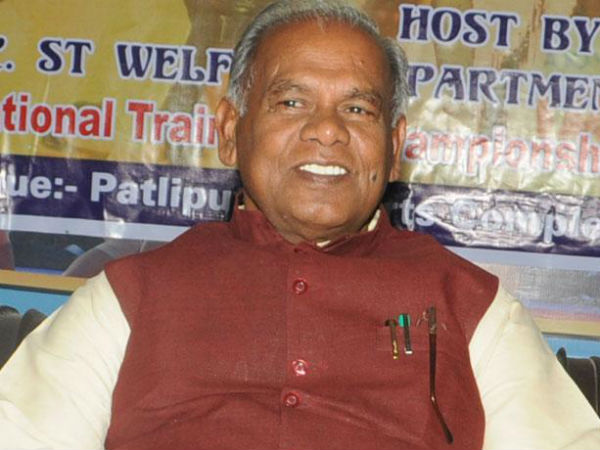 Manjhi advises Nitish to quit