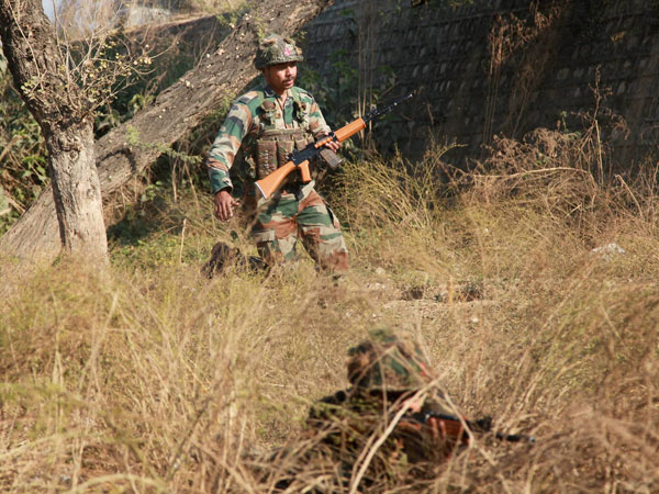 Pathankot:Foot prints to ascertain route