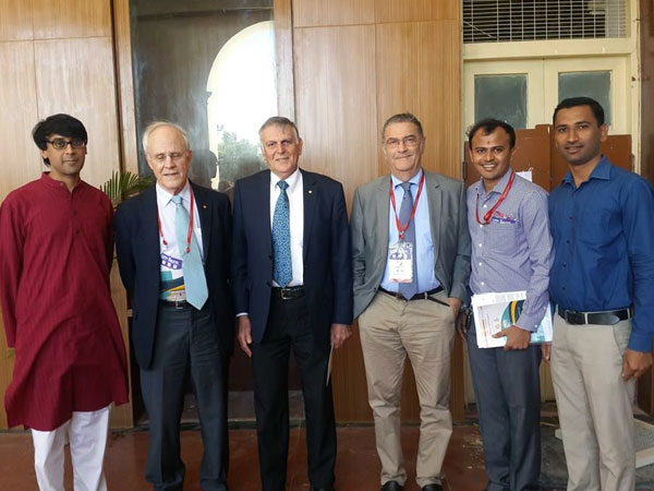 Mysuru boys won Nobel Laureates' hearts