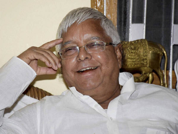 Lalu chosen as RJD president for 9th consecutive term.