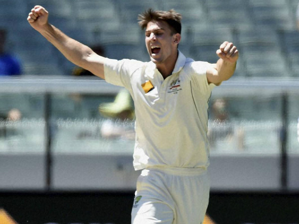 A file picture of Mitchell Marsh