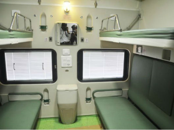 In Pics Indian Railways Unveils Train Coaches With
