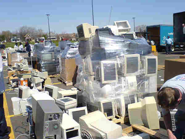 E-waste can produce more gold