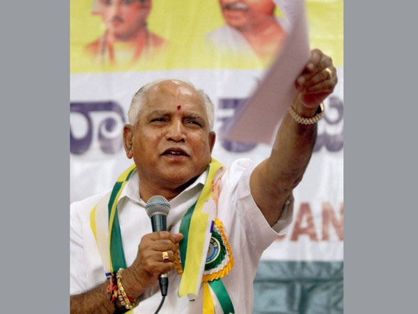 Yeddyurappa eyeing return to top post