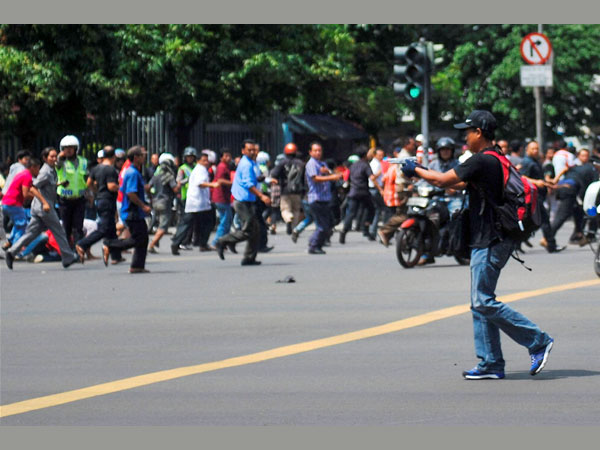 Indonesia on security alert after attack