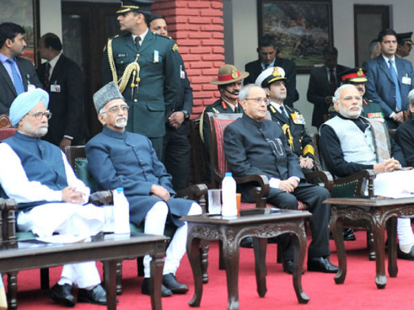 President, PM, Vice President, ex-PM attend Army Day function in New Delhi