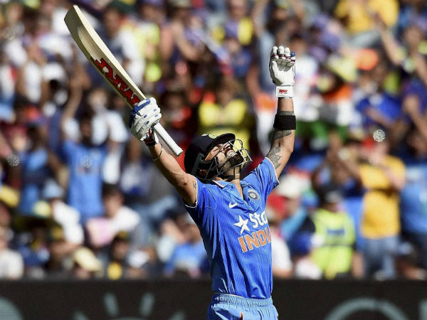Kohli celebrates his 24th ODI ton at MCG