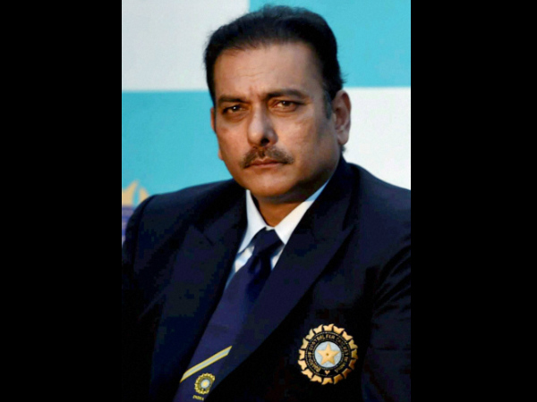 A file picture of Ravi Shastri