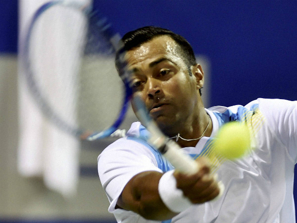 A file picture of Leander Paes