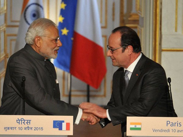 A new energy in France-India relation