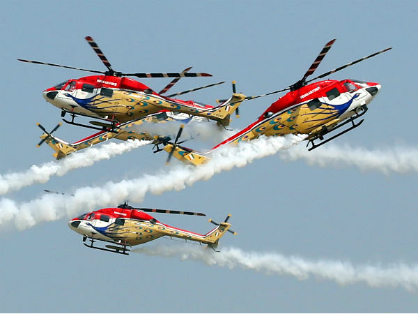 Sarangs, Tejas all set for sky party