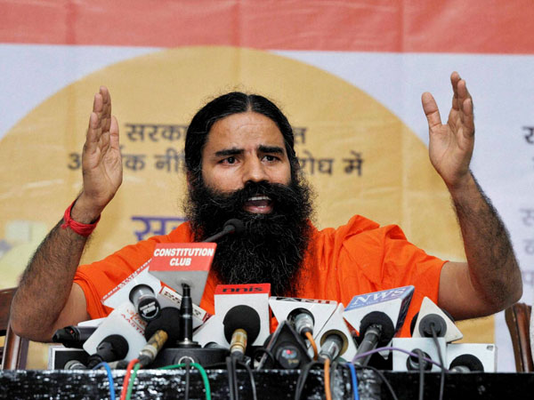 Ramdev wants produce from Maha forests