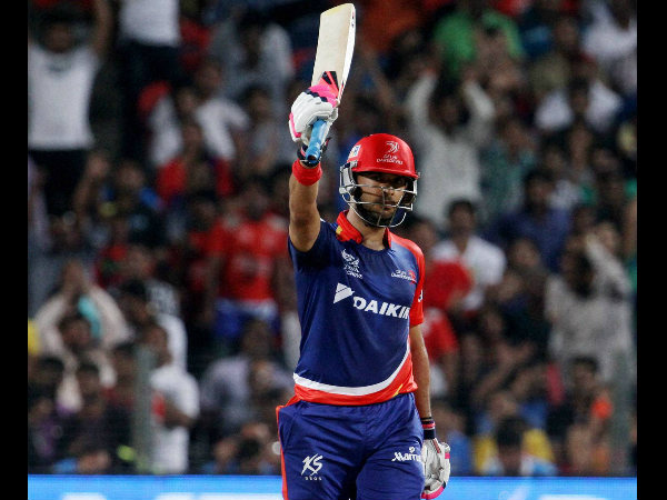 File photo: Yuvraj Singh in Delhi Daredevils' colours last year