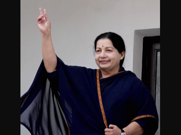 People want AIADMK govt: Jaya