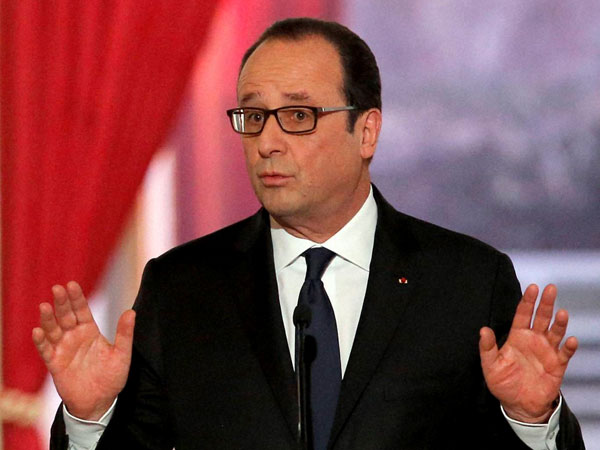 Hollande to begin 3-day India visit