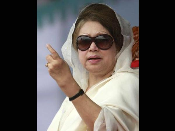 Sedition case filed against Khaleda Zia.