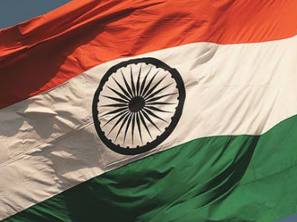 Indian flag hoisted in Pakistan