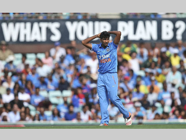 Jasprit Bumrah during the ODI series against Australia