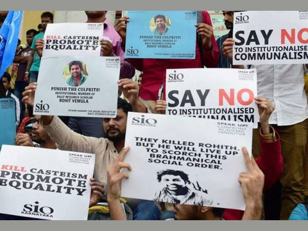 Rohith Vemula suicide: 150 students go on hunger strike in Delhi