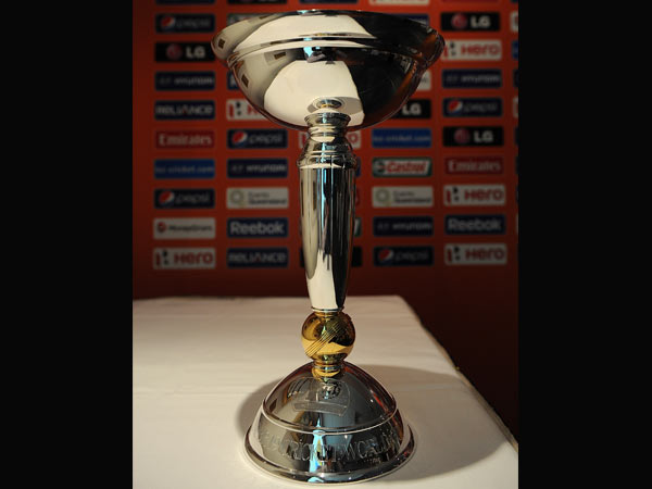 Under-19 World Cup trophy