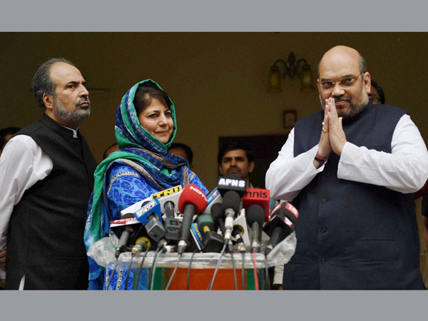BJP in no mood to re-negotiate in J&K