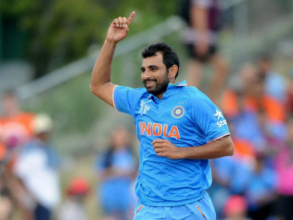A file picture of Mohammed Shami