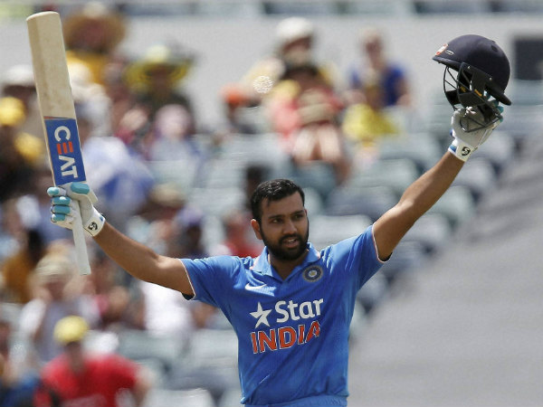 Rohit Sharma scored his 10th ODI ton after a huge let-off on 89