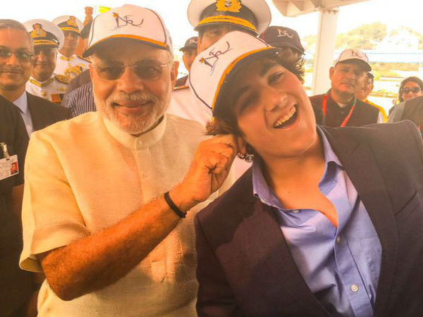 When PM pulled Akshay's son's ear!