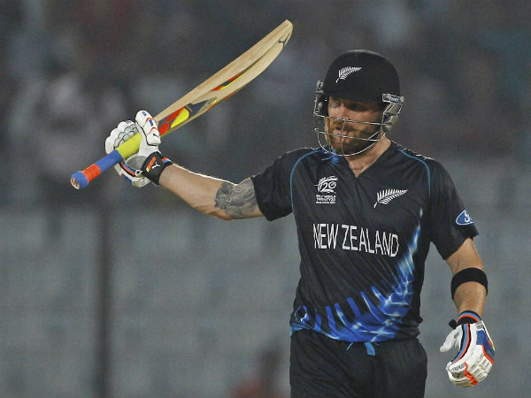 File photo: Winning farewell for Brendon McCullum