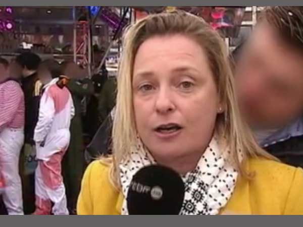 Journalist groped during live broadcast