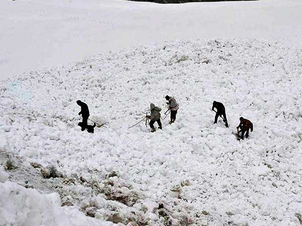Soldier found alive under Siachen